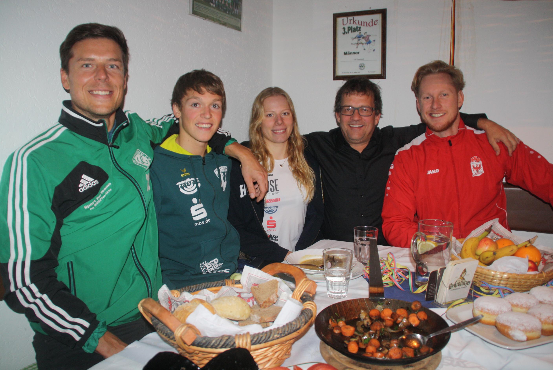 Triathleten-Dinner